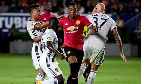 Amical Rashford Et Martial Portent Man U Face Au La Galaxy