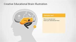 Creative Brain Section Slide In Powerpoint