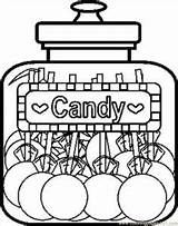 Coloring Candy Apple Printable sketch template
