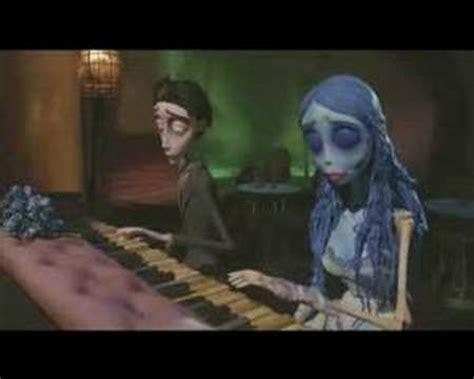 corpse bride victor s pianosolo doovi