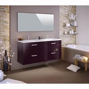 Double Vasque 140 : stella ensemble salle de bain double vasque l 140 cm ~ Edinachiropracticcenter.com Idées de Décoration