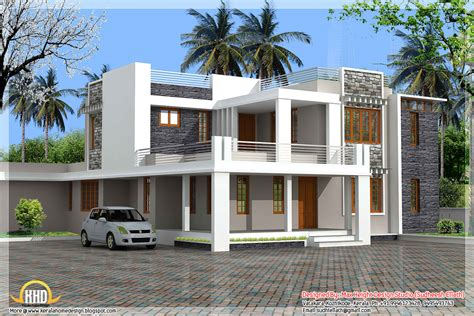 Contemporary Style : May-kerala Home Design And Floor Plans