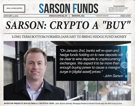 Customers are hesitant to place orders or even deposit funds unless they see a full order book and trading activity. Hedge Fund: Buy Before Bitcoin's Big Day on Jan 2nd | Sarson Funds | Cryptocurrency & Blockchain ...