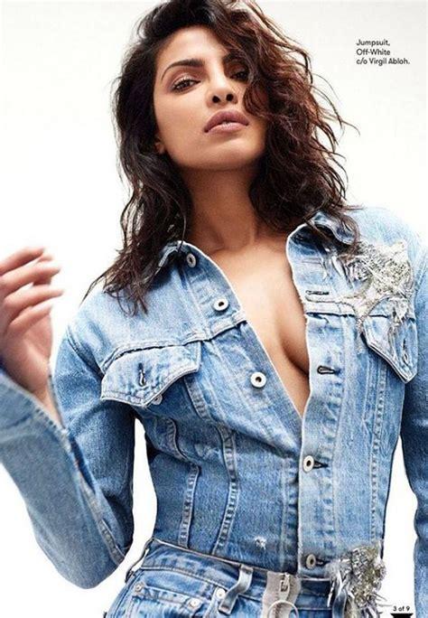 priyanka chopra poses  flare magazine bollywood celebs