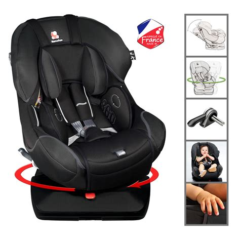siege auto qui pivote renolux 360 total black renolux babyhouseonline be