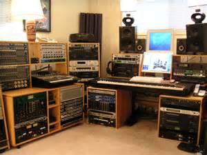 Homemade Recording Studio Desk