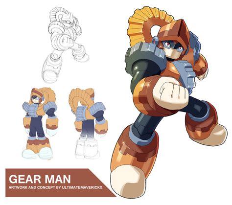 Megaman 11 Gear Man By Ultimatemaverickx On Deviantart