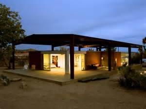green homes designs simple modern green desert house design