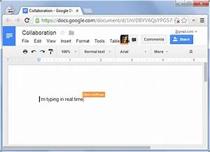 how to collaborate on documents over the internet With google documents collaboration