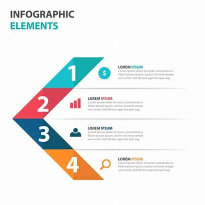 Infographic Elements Infographics Arrow Abstract Colorful Presentation