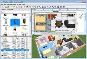 meilleur logiciel de plan de maison et d39amenagement interieur With logiciel plan 3d maison 9 logiciel amenagement interieur 2d3d en ligne gratuit