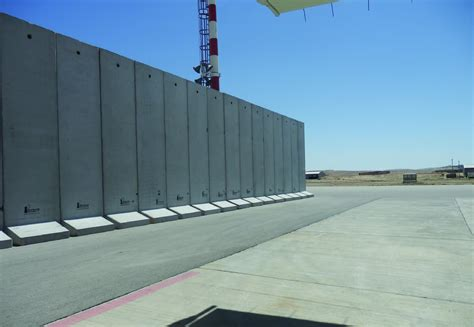 prefabricated concrete walls concrete t walls mifram security
