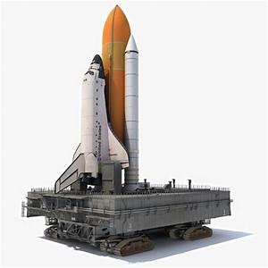 NASA Shuttle Launch Pad 3D | CGTrader