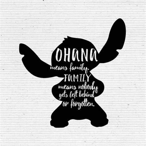 stitch clipart ohana means family stitch ohana means family transparent