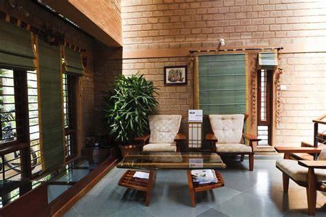 brick   wall  indian architects