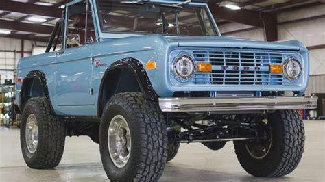 brand  classic ford broncos   sale fox news