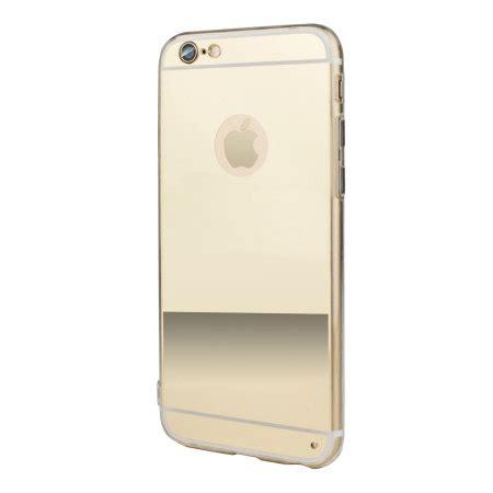 mirror iphone flexishield mirror iphone 6s 6 gel gold