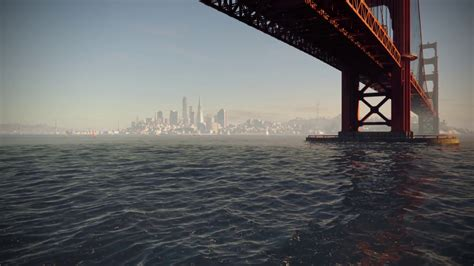 san francisco cityscape watchdogs   wallpaper