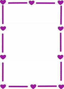 Purple Heart Border Clip Art at Clker.com - vector clip ...