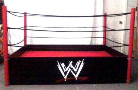 wrestling ring bed with ropes wrestling wwe bed