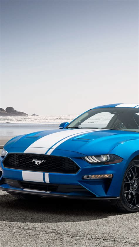 Car Wallpaper Vertical by Wallpaper Ford Mustang Ecoboost Performance Pack 2019