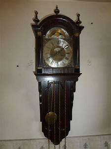 Horloge Murale Bois : warmink horloge murale bois ch ne catawiki ~ Teatrodelosmanantiales.com Idées de Décoration