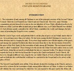 Vatican ii documents for Second vatican ii documents