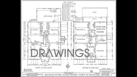 Types of Drawings used in Building Construction Drawings