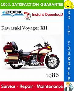 Best  U2606 U2606 1986 Kawasaki Voyager Xii Motorcycle Service