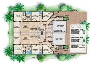 mediterranean floor plans mediterranean house plans home design calista 17748