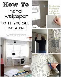 How to hang wallpaper like a pro jenna burger for How to make yourself go to the bathroom