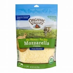 Organic Valley Mozzarella Cheese Finely Shredded 6oz Bag ...