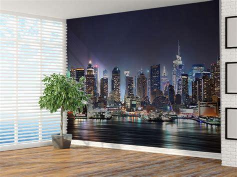 york city skyline photo wallpaper wall mural