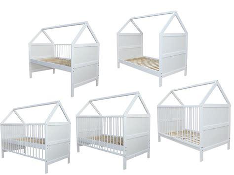 Micoland  Babybett Kinderbett Juniorbett Bett Haus 140x70