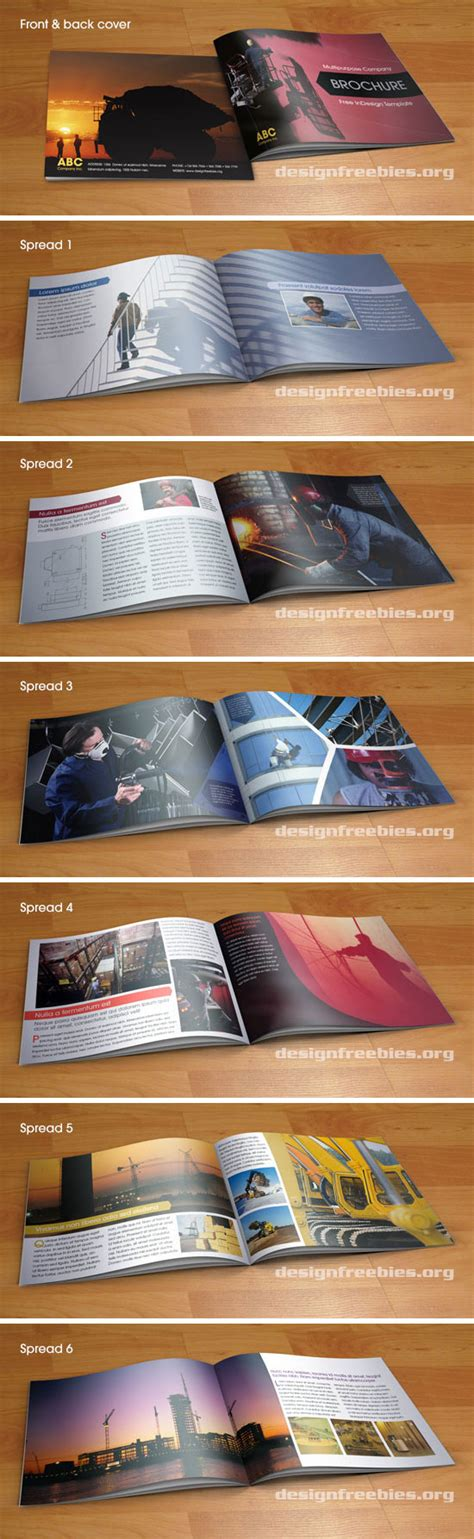 Free Indesign Brochure Templates Cs6 by Free Indesign Template Multipurpose A5 Booklet Type