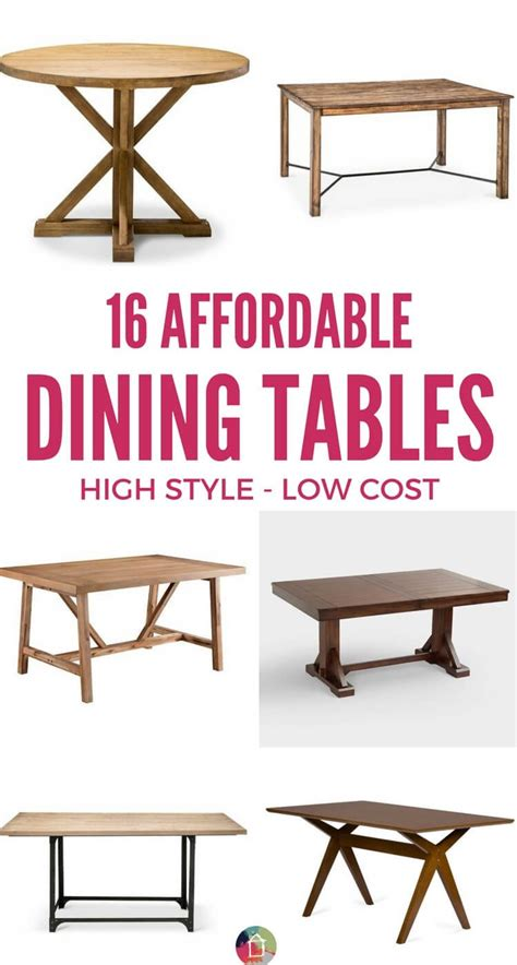 Affordable Dining Table by Affordable Dining Tables That Don T Skimp On Style