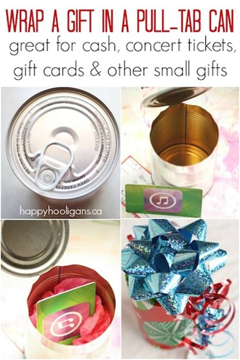 wrap  small gift   pull tab  happy hooligans
