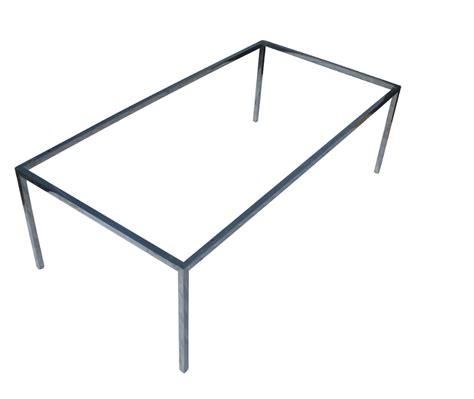 canape usine inoxydable table à manger en acier cadre métal cadre de