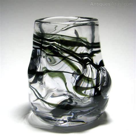 Whitefriars Glass Vase by Antiques Atlas Whitefriars Knobbly Cased Glass Vase