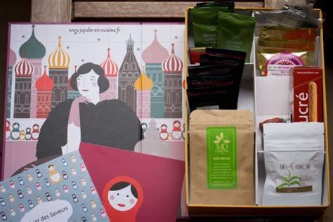 abonnement box cuisine la thé box de novembre un thé à pétersbourg