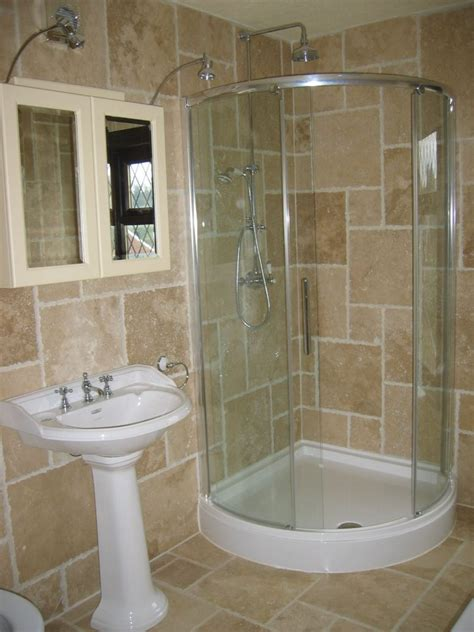 Small Bathroom Ideas With Shower Only by Brilliant Corner Showers For Small Bathrooms The Ogden