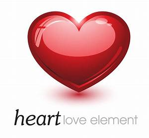Red Heart Love Element Icon - Free Icons - Cliparts.co