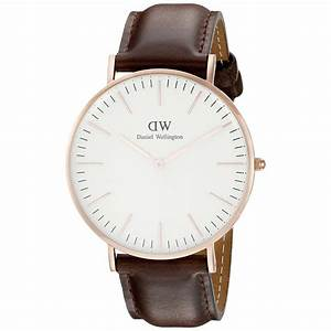 Dw Uhren Herren : daniel wellington classic bristol 0109dw analoguhr mit brauem lederarmband ~ Orissabook.com Haus und Dekorationen