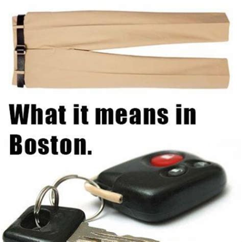 Boston Car Keys Meme - how boston people say they lost their car keys