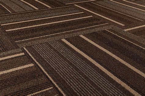 Dante Carpet Tile Lark Collection Brown Stripe 19 2