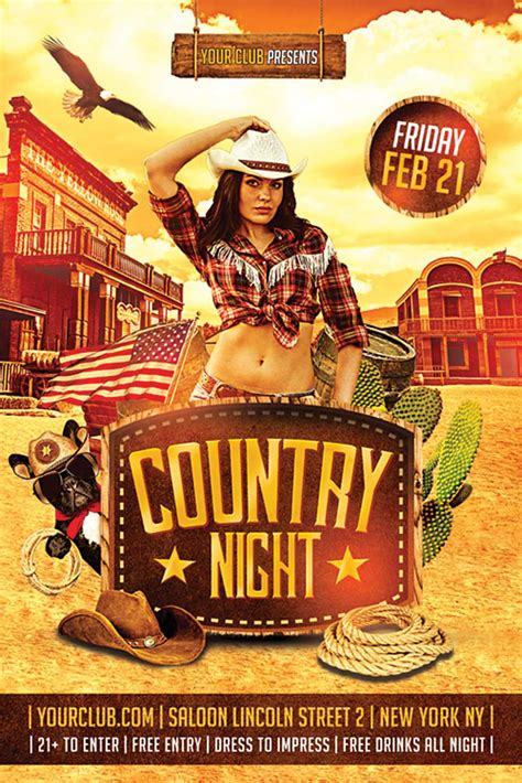 country poster template country flyer http xtremeflyers country flyer
