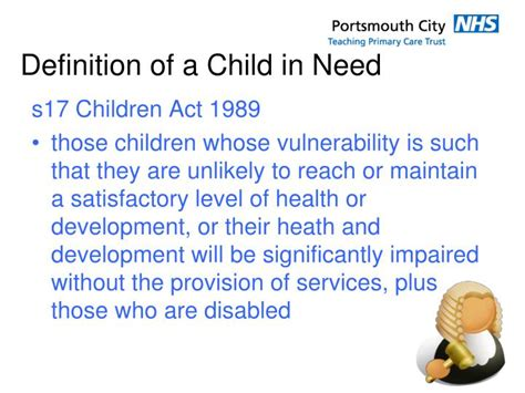 ppt safeguarding children and level 2 433 | definition of a child in need n