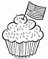 Coloring July 4th Sprinkles Tuesday Birthday Pages Happy Patriotic Themed America sketch template