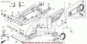 Honda Xr650l 1993  P  Usa Swingarm