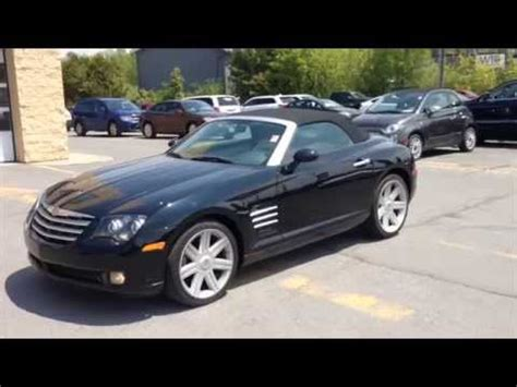 2008 Chrysler Crossfire For Sale by Used 2008 Chrysler Crossfire Limited Roadster Black For